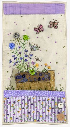 Sharon Blackman: Tribute to Mary Fedden appliqué and embroidery