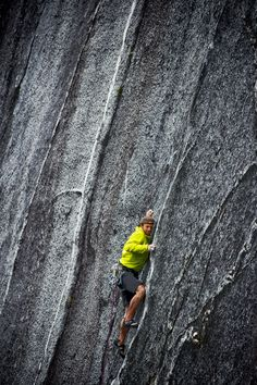 ♂ Outdoor adventure rock climbing