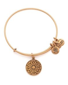 Through December 2015, 20% of proceeds received by Alex and Ani from selling the New Beginnings bangle, with a minimum donation of $25,000, will be donated to The One campaign, a global campaigning an