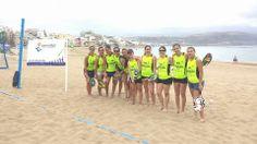 Primera prueba de la segunda Liga de Torneos Americano de Tenis Playa. Gran Canaria. http://on.fb.me/1hnPvLN
