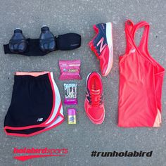 What better way to run in spring than with #Pink gear from New Balance.  Grab this #OutfitOfTheDay and more here at Holabird Sports.   #runholabird #NewBalance #FreshFoam #Zante #Colorways #Running #RunningGear #FuelBelt #PickyBars #RunGuard #HoneyStinger #OOTD