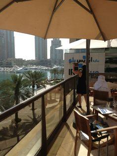 Breakfast Terrasse, Grosvenor House, Dubai, UAE.