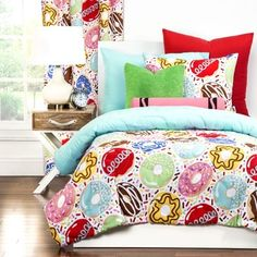 Shop for Crayola Sweet Dreams 3-piece Comforter Set. Get free delivery at Overstock.com - Your Online Kids'
