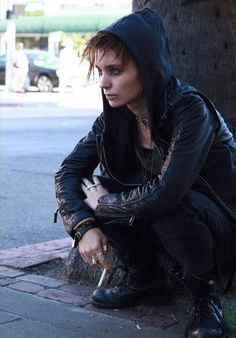Rooney Mara (pre-production photoshoot) as Lisbeth Salander.