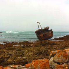 Ship Wreck - Cape Aghulas