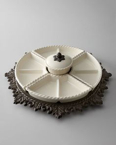 GG Collection Lazy Susan - Neiman Marcus...I'm in love, wish it wasn't so much :( -HNWm