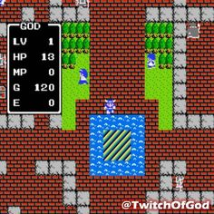 On instagram by twitchofgod #nes #microhobbit (o) http://ift.tt/1TZ051c is now playing Dragon Warrior on #NES! This is the game that got Me into RPGs. Got it for free with my subscription to #NintendoPower! #GodIsOldSchool #GodIsAGamer