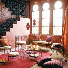déco marocaine et couleurs vives