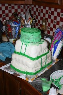 ugly wedding cakes | Today on Cake Wrecks, they have a wedding cake disaster photo ...