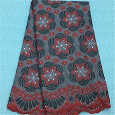 African Embroidery Lace Fabric LKLACE4301-5  https://www.lacekingdom.com/      #embroiderylace