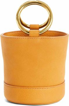 Simon Miller Bonsai 20 Pebbled Leather Bucket Bag | Nordstrom