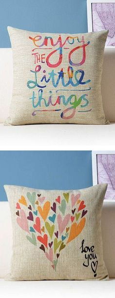 Such cUte Pillows ... L❤︎ve these!