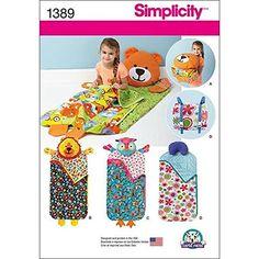 Simplicity Creative Patterns 1389 Child's Nap Pack Simpli...