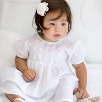 A cute white nightdress for your princess