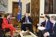 From left to right: Pilar Farjas, Secretary General of Health, Spain Jos Miguel Insulza, OAS Secretary General Jorge Hevia, Ambassador, Permanent Observer of Spain to the OAS Manuel Surez Lemus, Cabinet, Secretary General of Health Consumer Protect Best! See This! http://all4betterlife.com