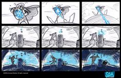 Living Lines Library: Despicable Me (2010) - Storyboards