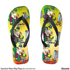 Inactive Wear Flip Flops #FlipFlops #Sandals #Shoes #Fashion #InactiveWear #CouchPotato