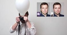Use pop-up flash with balloons. When external flash units cost up to $900 it's no wonder why people come up with incredible DIY solutions. Russian photographer duo Koldunov Brothers have just demonstrated how a simple balloon can greatly improve your photos.
