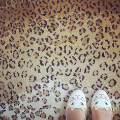 """""""The purrfect flats! Charlotte x"""" #CharlotteOlympiasShoes #CharlotteOlympia #netaporter"""