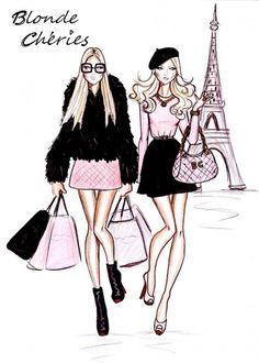 Fashion Illustration Vintage Sketches Hayden Williams 54 New Ideas Hayden Williams, Trendy Fashion, Fashion Art, Girl Fashion, Fashion Design, Vintage Fashion, Parisian Fashion, Bohemian Fashion, Fashion Clothes