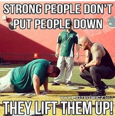 Helping others get better helps you stay better!