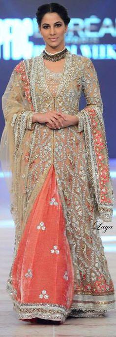 Misha Lakhani . . PFDC L'Oréal Paris Bridal Week 2014 ✿Laya✿
