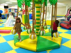 Hop N Play Indoor Playground Centre Areas
