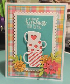 Cup of Kindness by bhappystamper - Cards and Paper Crafts at Splitcoaststampers
