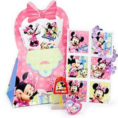 MINNIE MOUSE DELUXE FAVOR KIT $5.89