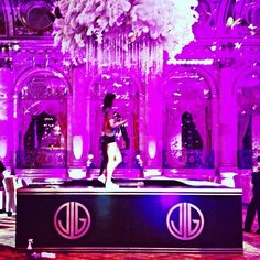 The Great Gatsby (2013) | NYC Premiere: prepping The Plaza Hotel's ballroom for the premiere party.