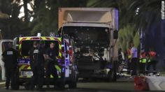 A truck drove into a crowd at Bastille Day ceremonies late Thursday in Nice, France, killing dozens of people, Regional President Christian Estrosi tweeted.