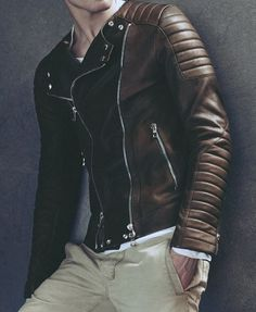 motorcycle jacket #leather #jacket #menswear