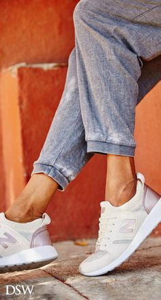 Own the athleisure look this summer with ready-for-anything sneakers from New Balance. Now available at DSW. Shop the collection today and get FREE shipping on every order over $35.