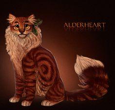 Alderheart by Saakumi on DeviantArt Erin Johnson, Warrior Cats Art, Anime Wolf, Cat Stuff, Cat Art, Tigger, Warriors, Disney Characters, Fictional Characters
