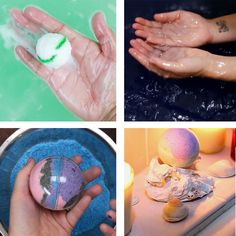 Diy bath bomb ideas those life hacks bath bomb recipes, bath bombs Cute Crafts, Crafts To Sell, Diy And Crafts, Arts And Crafts, Diy Lush, Diy Spa, Bath Bomb Recipes, Ideias Diy, Crafts For Teens