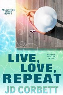 💚 #Win this #GiftCard #Giveaway 💚 With a second chance at life…and love, turning 50 never felt better. Live, Love, Repeat by J.D. Corbett Silver Dagger Book Tourss  #ContemporaryRomance