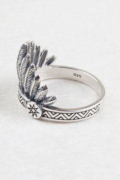 Indian Headdress Ring $55