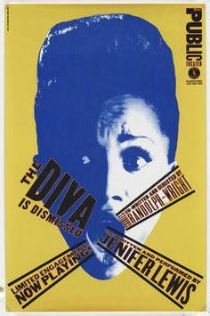 Paula Scher. The Diva is Dismissed. 1994