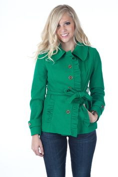 Fabrik's Tulle ruffle coat