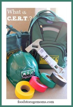 CERT-What In The World Is CERT All About? | by FoodStorageMoms.com