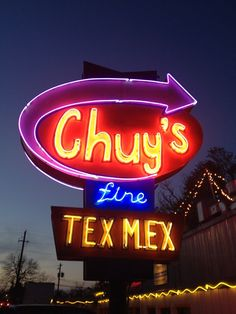 Pretty good Tex Mex and margaritas/martinis. I like the Texan martini! Multiple locations around town.