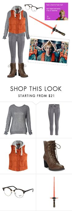 """""""Hi, I'm Matt, The Radar Technician."""" by hanniskywalker ❤ liked on Polyvore featuring American Rag Cie and Ray-Ban"""