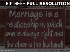 A Collection of 28 #Funny #Marriage #Quotes to Make You Giggle