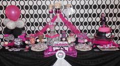 Monster high - Table setting