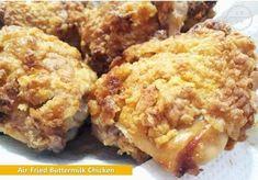 Air-Fried Buttermilk Chicken: