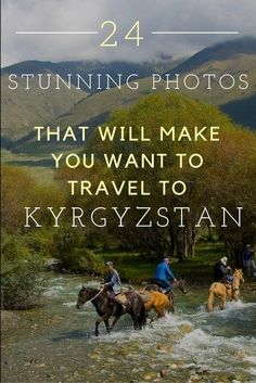 24 Stunning Photos That Will Make You Want to Travel to Kyrgyzstan. It's a travel destination that's perfect for mountain and nature lovers. It should definitely be on your travel bucketlist.