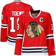 Jonathan Toews Ladies Chicago Blackhawks Hockey Jerseys
