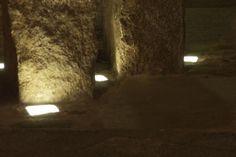 LED outdoor lighting. Czech Republic. Paving lights. Outdoor gardening ideas.
