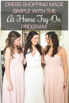 Get your girls together and sample Kennedy Blue bridesmaid dresses in the comfort of your home!