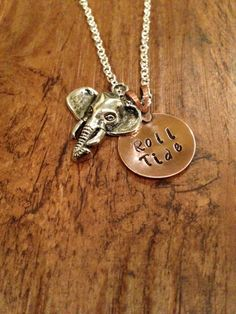 Alabama Roll Tide necklace by kimsjewelry on Etsy, $18.00